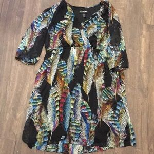 Crossover feather Lane Bryant 18/20 dress